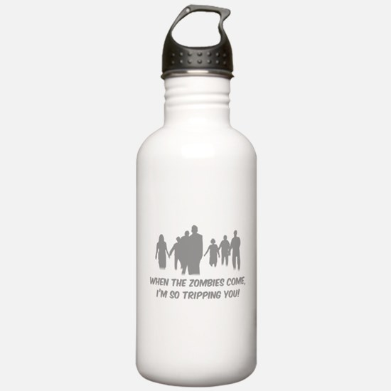 Zombies Quote Water Bottle