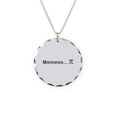 mmmmm...PI Necklace Circle Charm