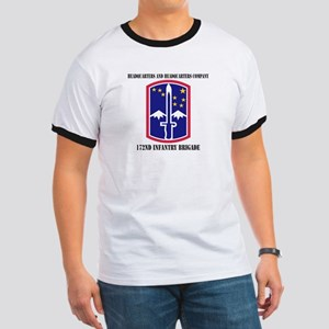 HHC - 172 Infantry Brigade with text Ringer T