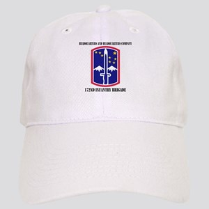 HHC - 172 Infantry Brigade with text Cap