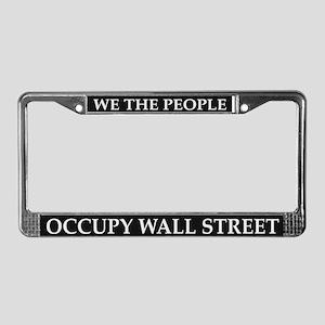Occupy Wall Street - License Plate Frame