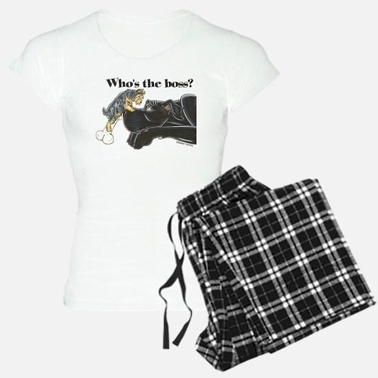 NB/Yorki Who's The Boss? Pajamas