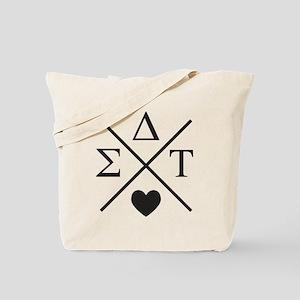 Sigma Delta Tau Cross Tote Bag