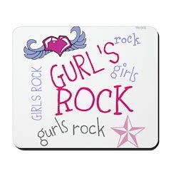 OYOOS Girls Rock design Mousepad