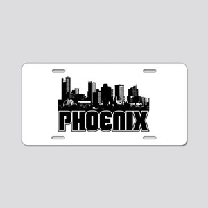 Phoenix Skyline Aluminum License Plate