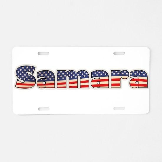 American Samara Aluminum License Plate