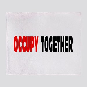 Occupy Together: Throw Blanket