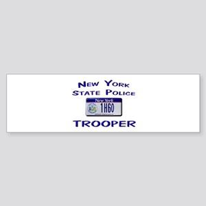 New York State Police Sticker (Bumper)