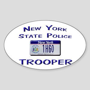 New York State Police Sticker (Oval)