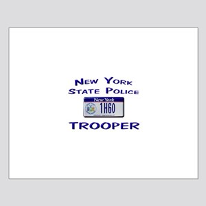 New York State Police Small Poster