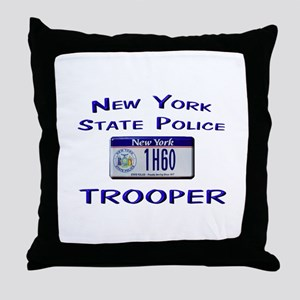 New York State Police Throw Pillow