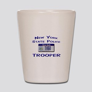 New York State Police Shot Glass