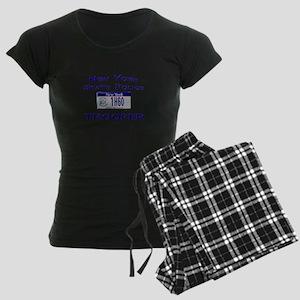 New York State Police Women's Dark Pajamas
