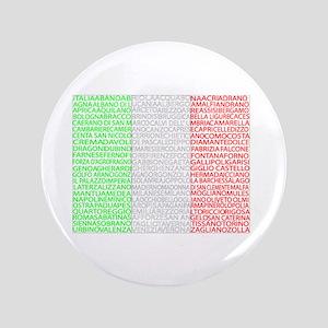 "Italian Cities Flag 3.5"" Button"