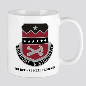 5th BCT - Special Troops Bn with Text Mug