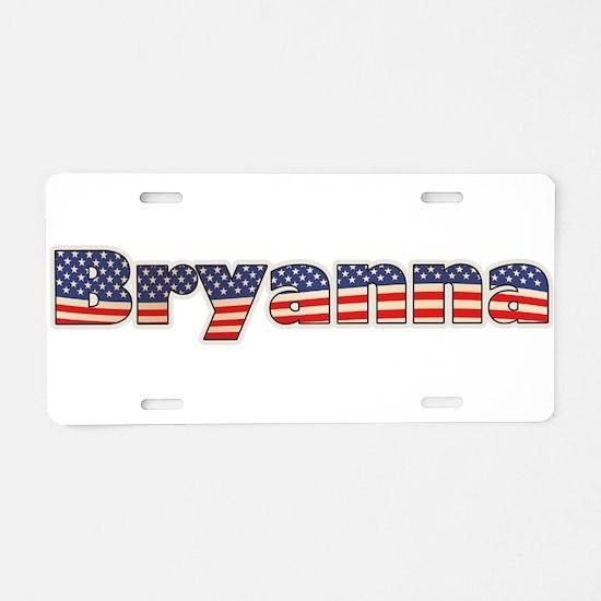 American Bryanna Aluminum License Plate