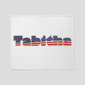 American Tabitha Throw Blanket