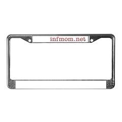 infmom.net License Plate Frame
