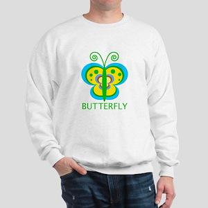 colorful butterfly Sweatshirt