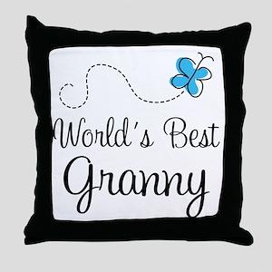 Granny (World's Best) Throw Pillow