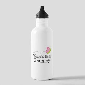 World's Best Grammy Stainless Water Bottle 1.0L