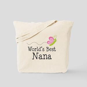 World's Best Nana Tote Bag