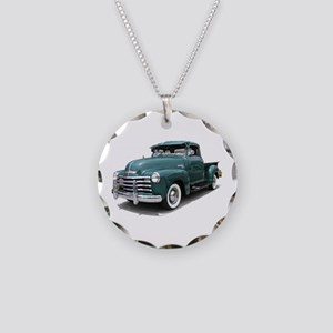 Helaine Old Green PickUp Necklace Circle Charm