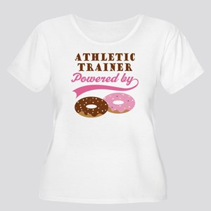 Athletic Trainer Gift Doughnuts Women's Plus Size