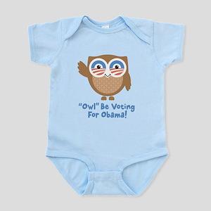 Obama Owl Infant Bodysuit