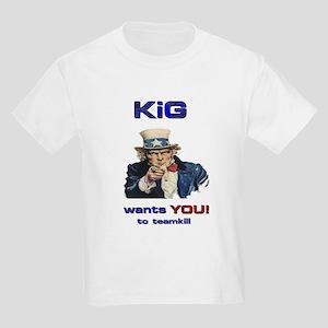 KiG wants you! to teamkill Kids T-Shirt
