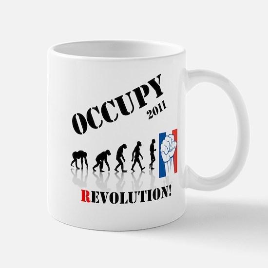 Occupy Evolution Mug