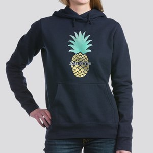 Sigma Delta Tau Pineappl Women's Hooded Sweatshirt