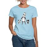 Panda and cats Women's Light T-Shirt