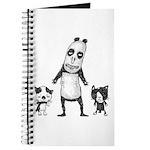 Panda and cats Journal