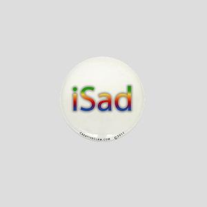 iSad Rainbow - Mini Button