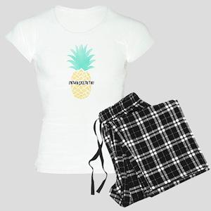 Sigma Delta Tau Pineapple Women's Light Pajamas