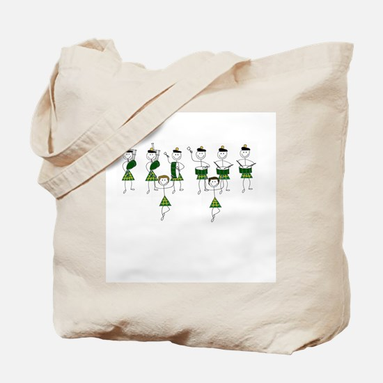 My Band and Dancers Tote Bag