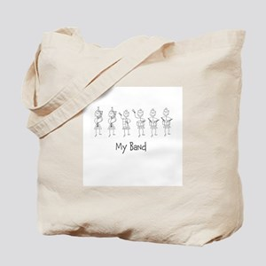 My Band B&W Tote Bag