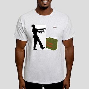 Zombie Cacher Light T-Shirt
