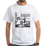 The Great Wall of Food White T-Shirt