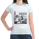 The Great Wall of Food Jr. Ringer T-Shirt