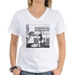 The Great Wall of Food Women's V-Neck T-Shirt