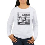 The Great Wall of Food Women's Long Sleeve T-Shirt