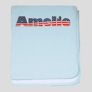 American Amelie baby blanket