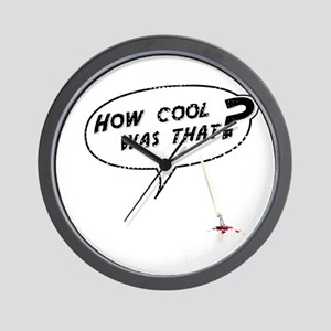 How cool was that? Wall Clock