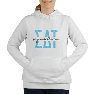 SDT Polka Dots Women's Hooded Sweatshirt