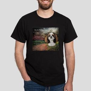 """Why God Made Dogs"" Shih Tzu Dark T-Shirt"