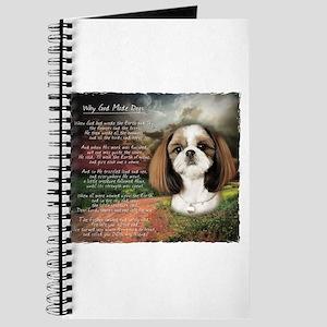 """Why God Made Dogs"" Shih Tzu Journal"