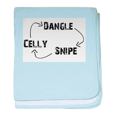 Dangle-Snipe-Celly baby blanket