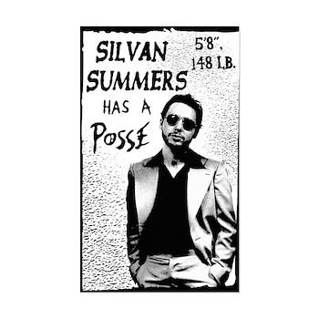 """Silvan Summers Has A Posse"" Sticker"